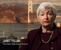 (A picture of a Janet Yellen