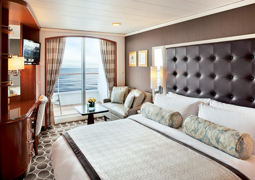 Deluxe Stateroom with Verandah (A1, A2, B1, B2, & B3)
