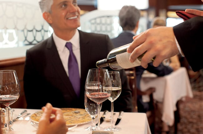 FINE WINES & SPIRITS, PRE-PAID GRATUITIES