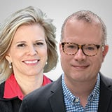 Julia C. Guth, CEO & Executive Publisher, The Oxford Club <br> Steven King, Event Director, The Oxford Club